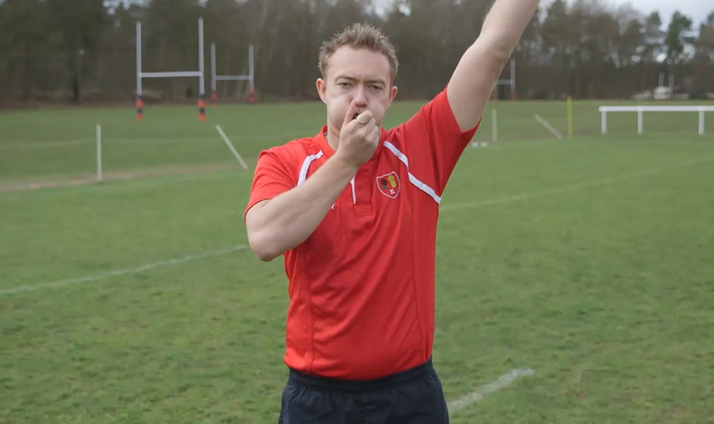 Keep Your Boots On Get Started As A Rugby Referee